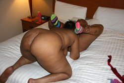 Booty african girl lick cock orgy