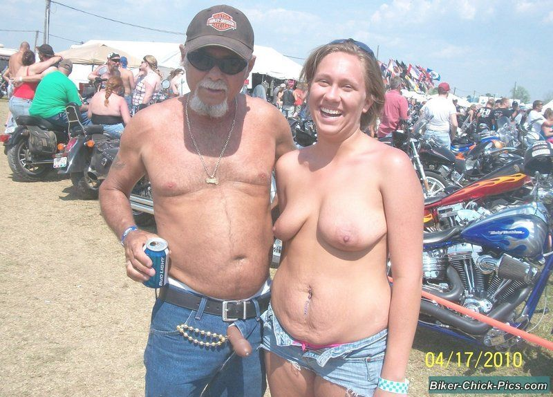 Daisy recommend best of Wife naked at bike rally