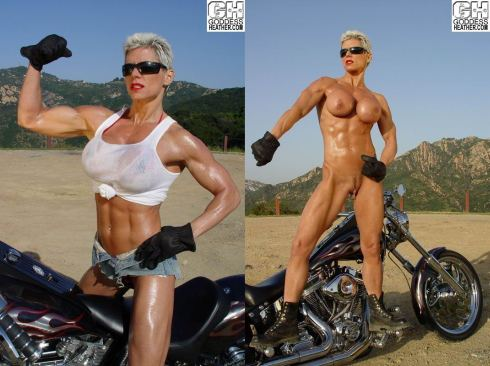 Muscle girl bdsm
