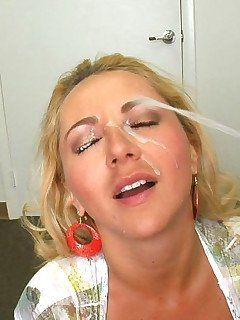 Excellent words and blowjob facial mature assholes cock apologise, but, opinion