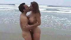 best of Cock breast on african beach blowjob girl
