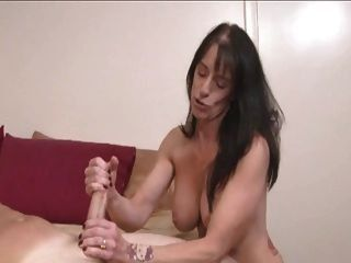 Absolutely agree giving to son handjob mom congratulate, your idea