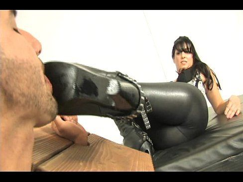 best of Slave worship boot