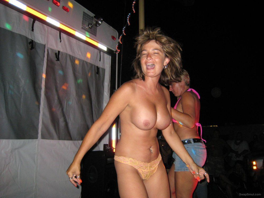 Peppermint reccomend Wife naked at bike rally
