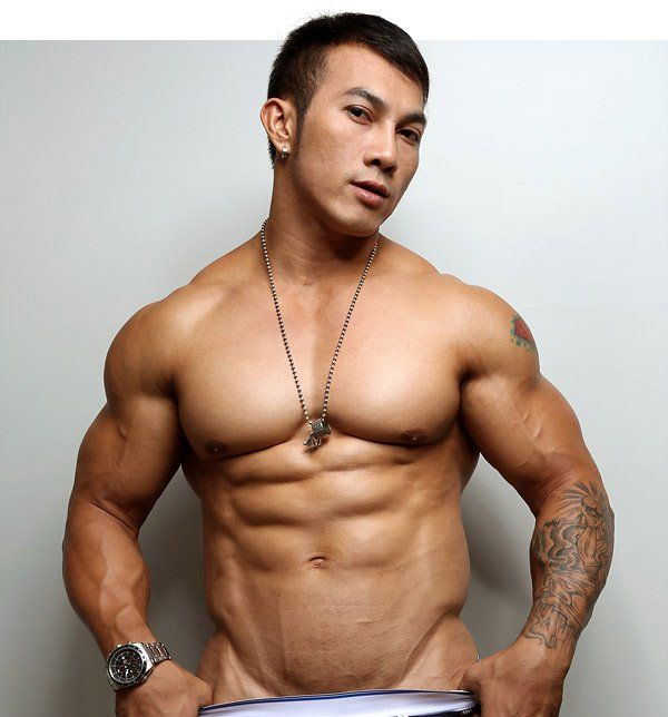 best of Naked bodybuilder men Asian