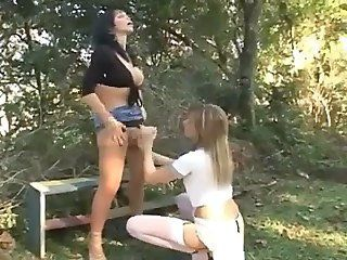 Think, that outdoor brunette dick japanese handjob that