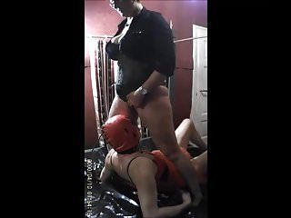 Chubby twins lick penis and pissing