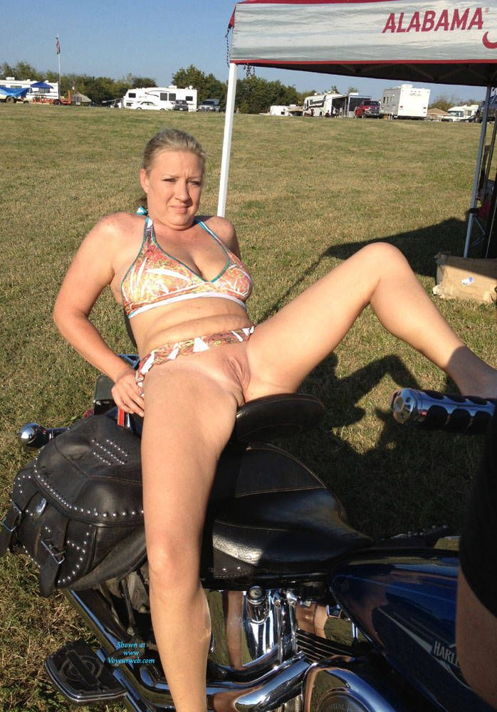 Clinic reccomend Wife naked at bike rally