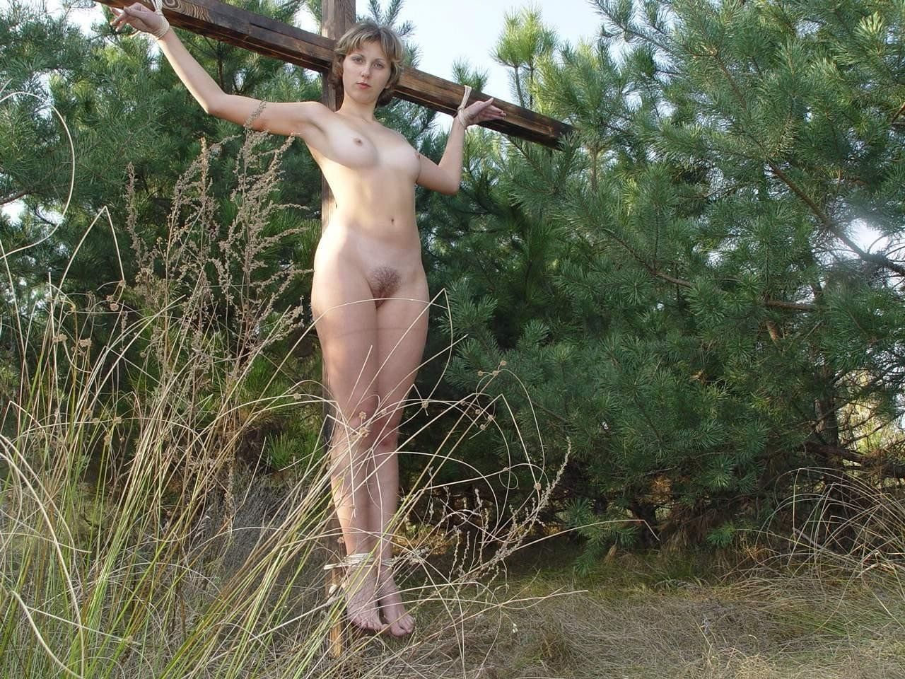 Women crucified nude extreme NEW porn website images. Comments: 1