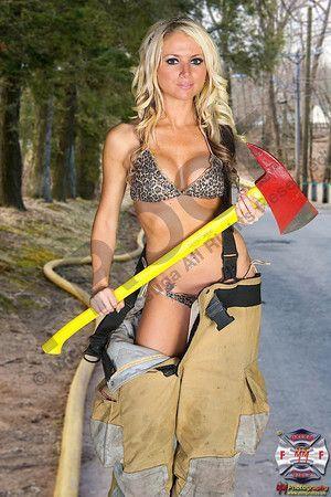 Ftv girl kiera topless firewoman