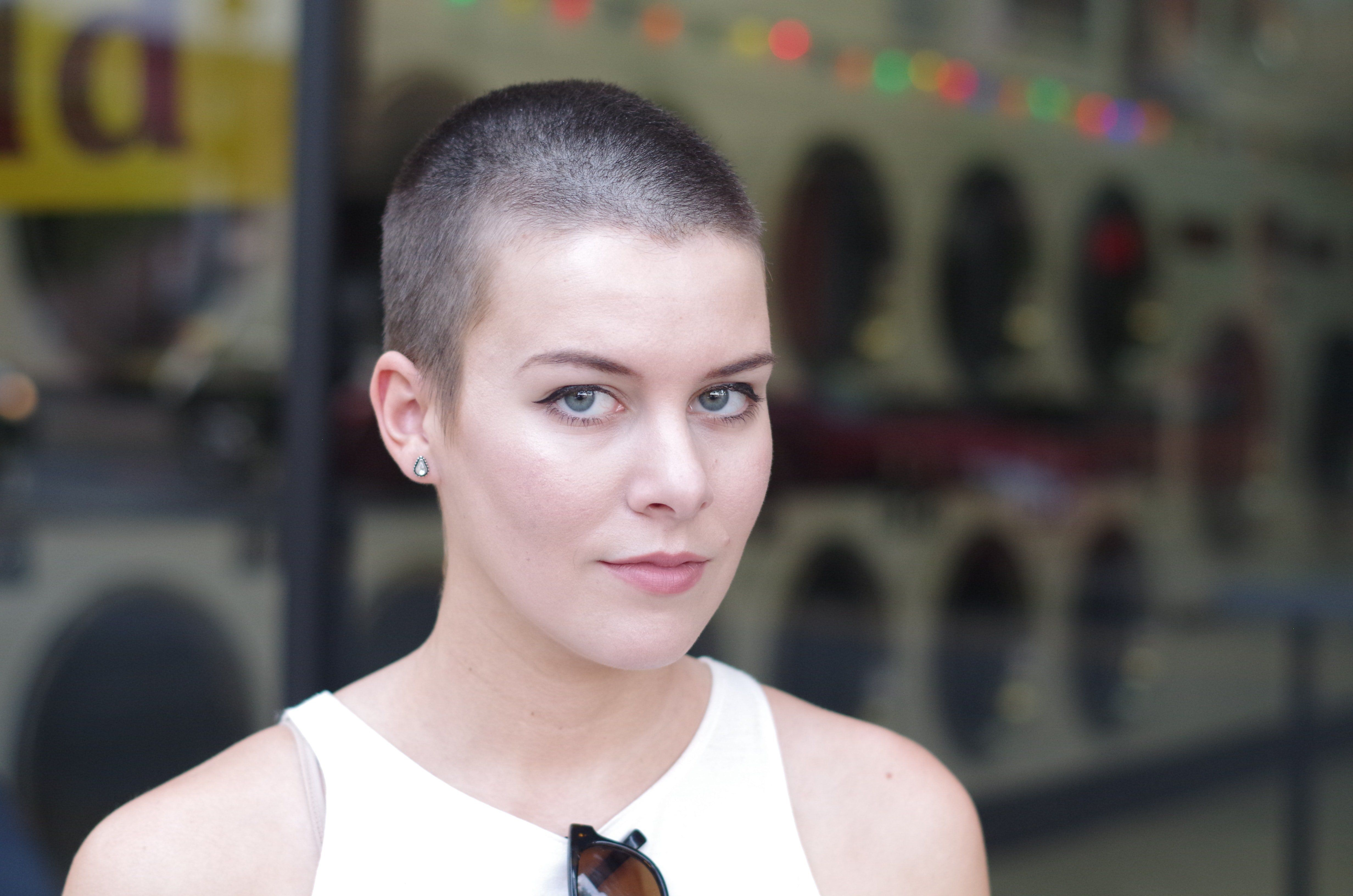 Athens reccomend Head her shaved she want