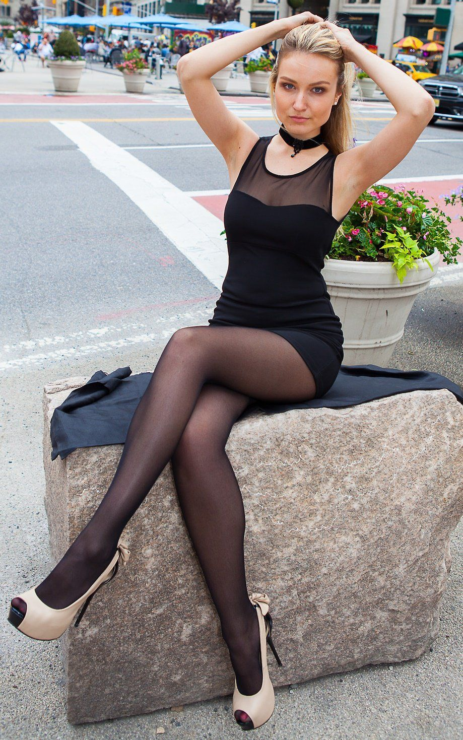 best of Skirt mini heels High pantyhose