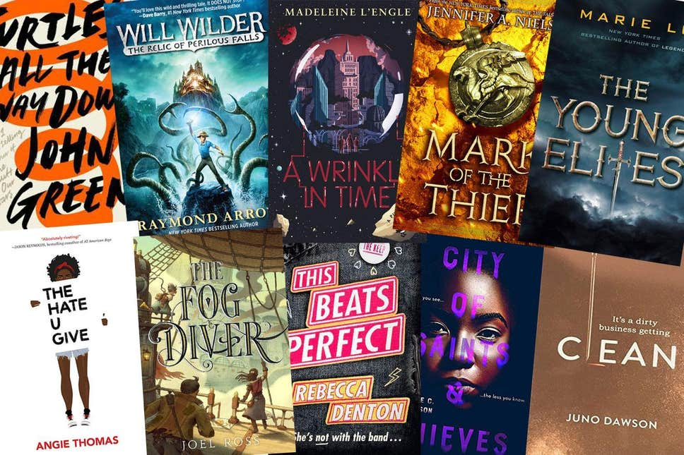 Zee-donk reccomend Popular young adult fiction books