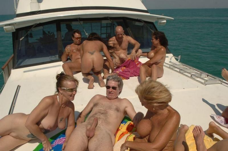 best of Yacht orgy on Swingers Group at