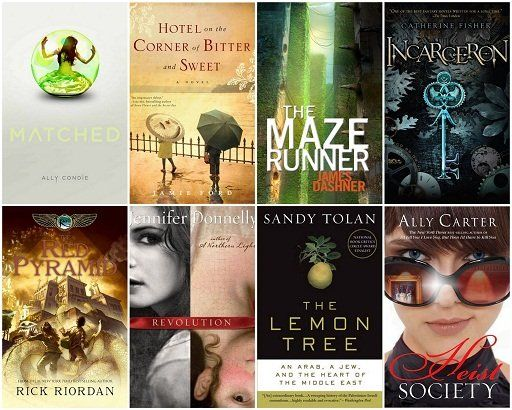 best of Books Popular fiction young adult