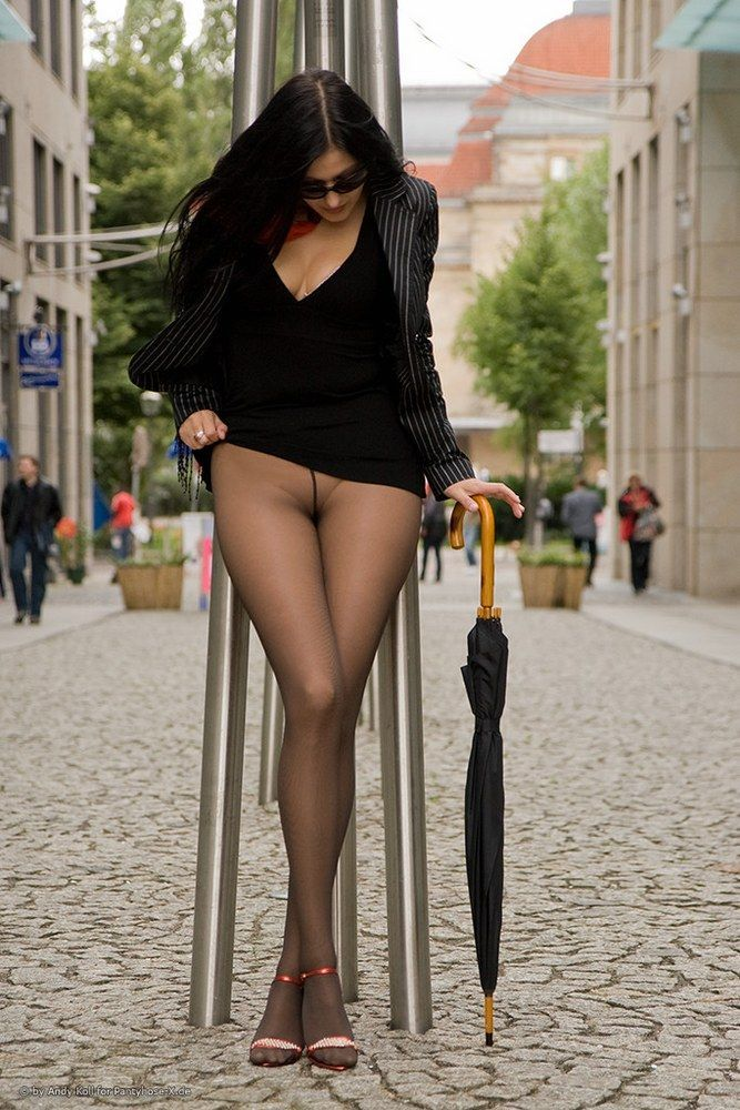 best of In Pantyhose crocth public pics