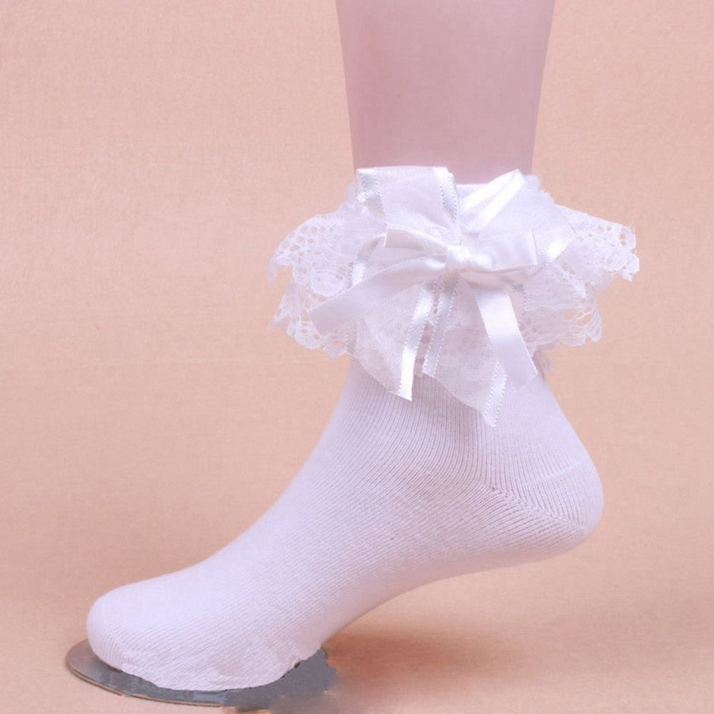 Frilly ankle socks fetish