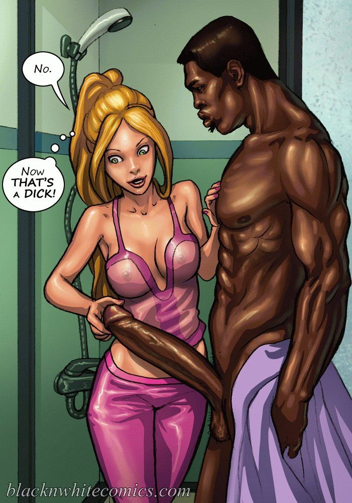 Black girl interracial sex comic