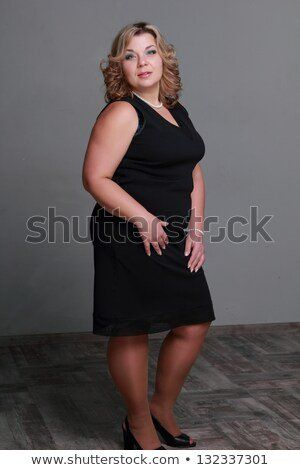 Woman lovely fat woman the