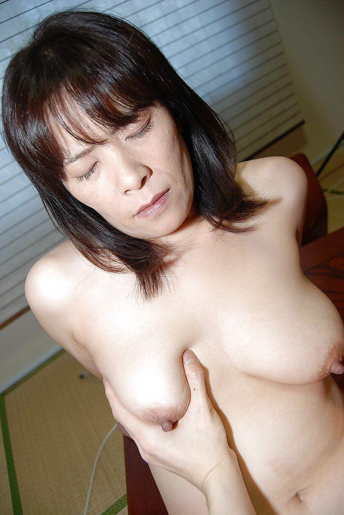 best of Mature nipples large Asian