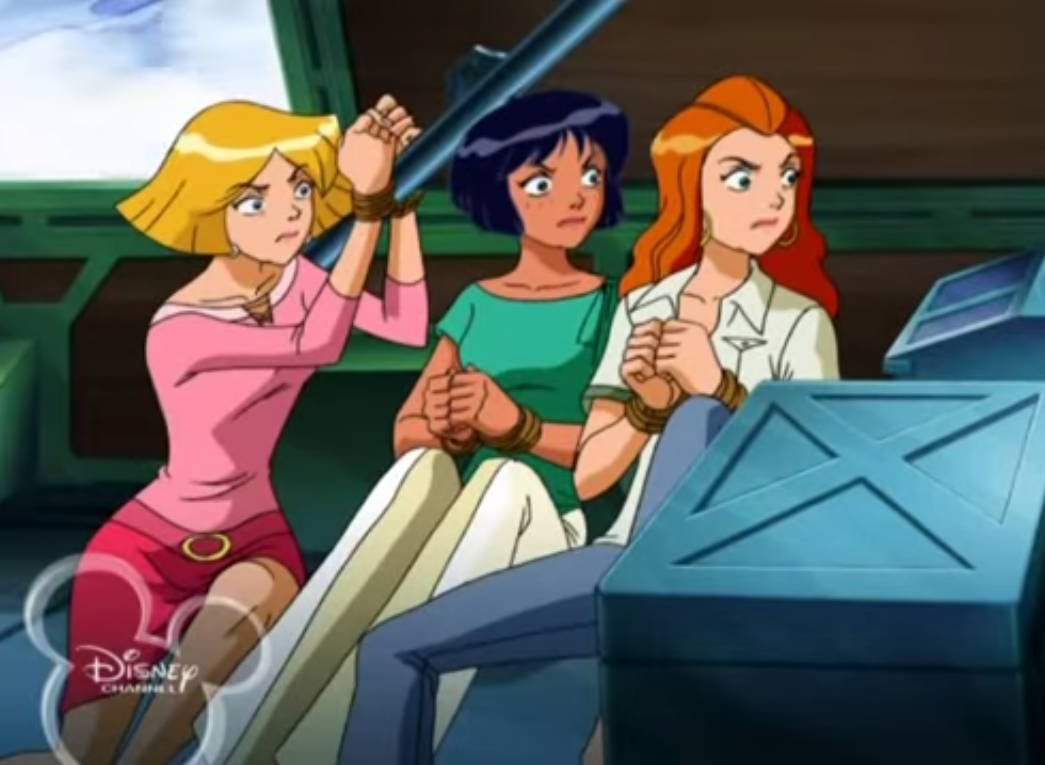 best of Up Totally Spies Tied
