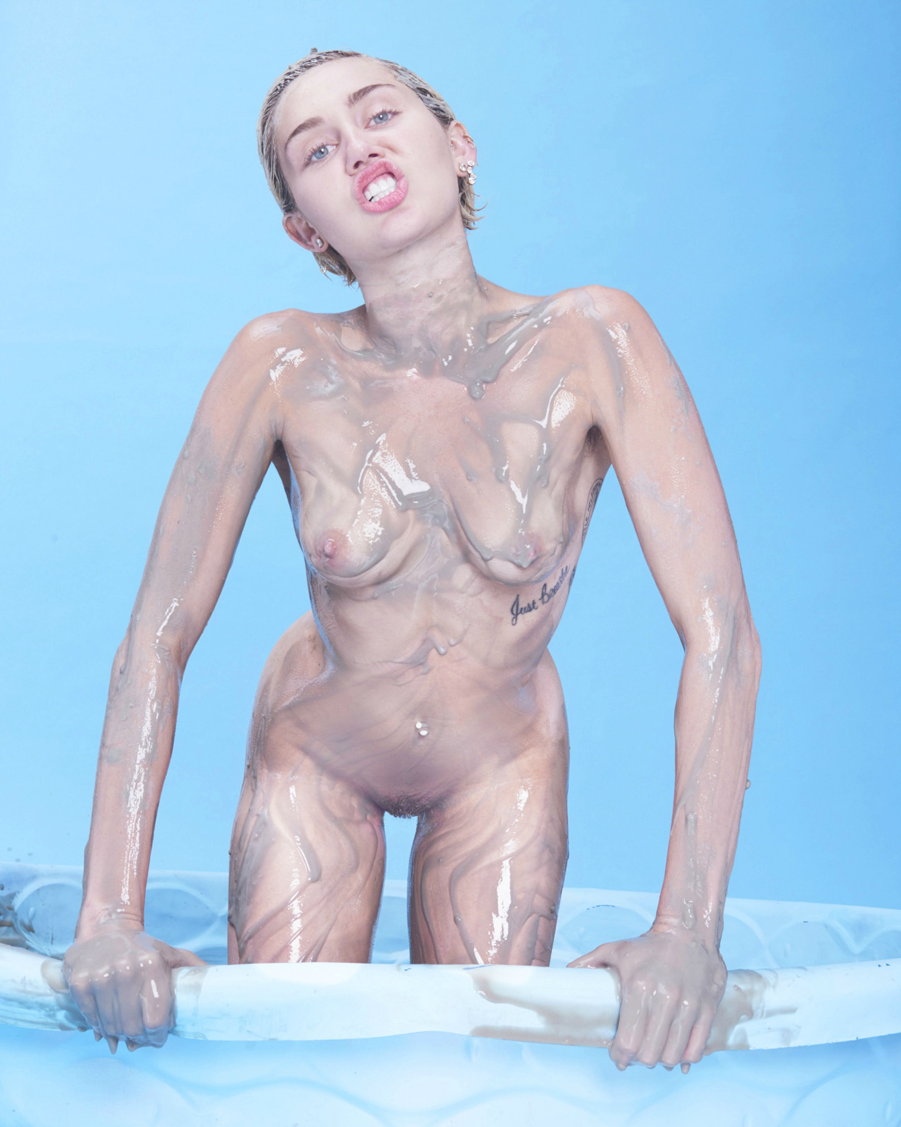 best of Pool nude Miley cyrus in