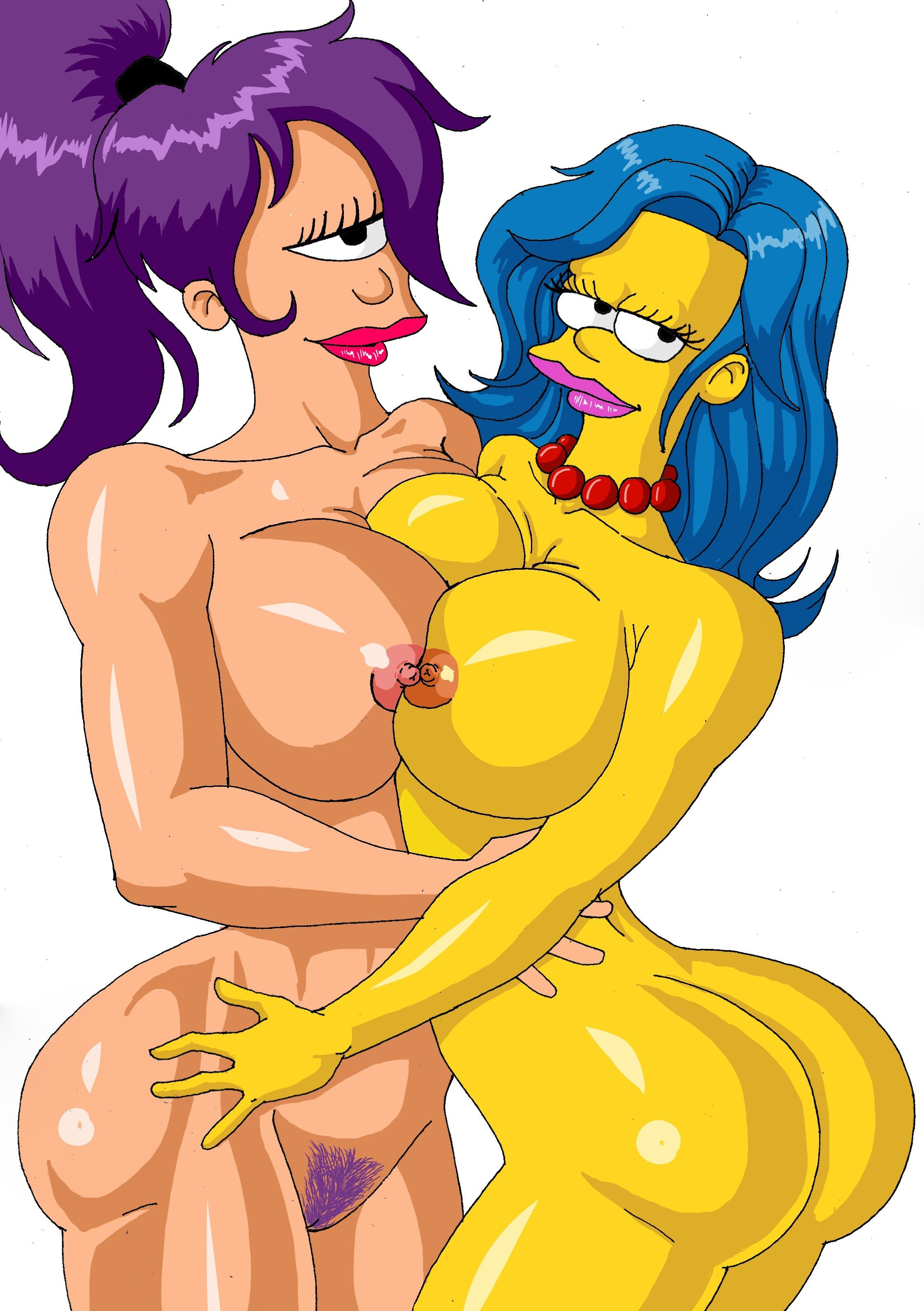Spike reccomend Marge simpson and leela nude
