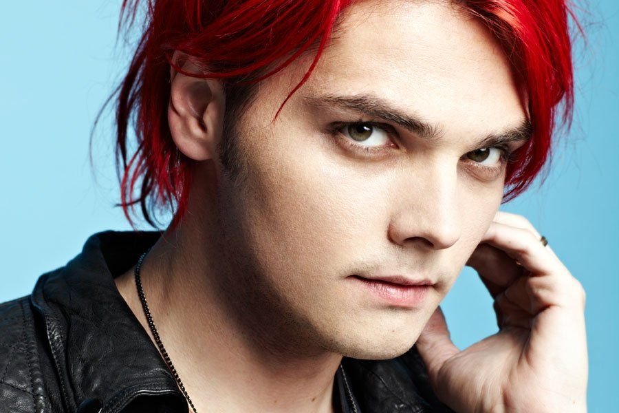 Gerard way eye color