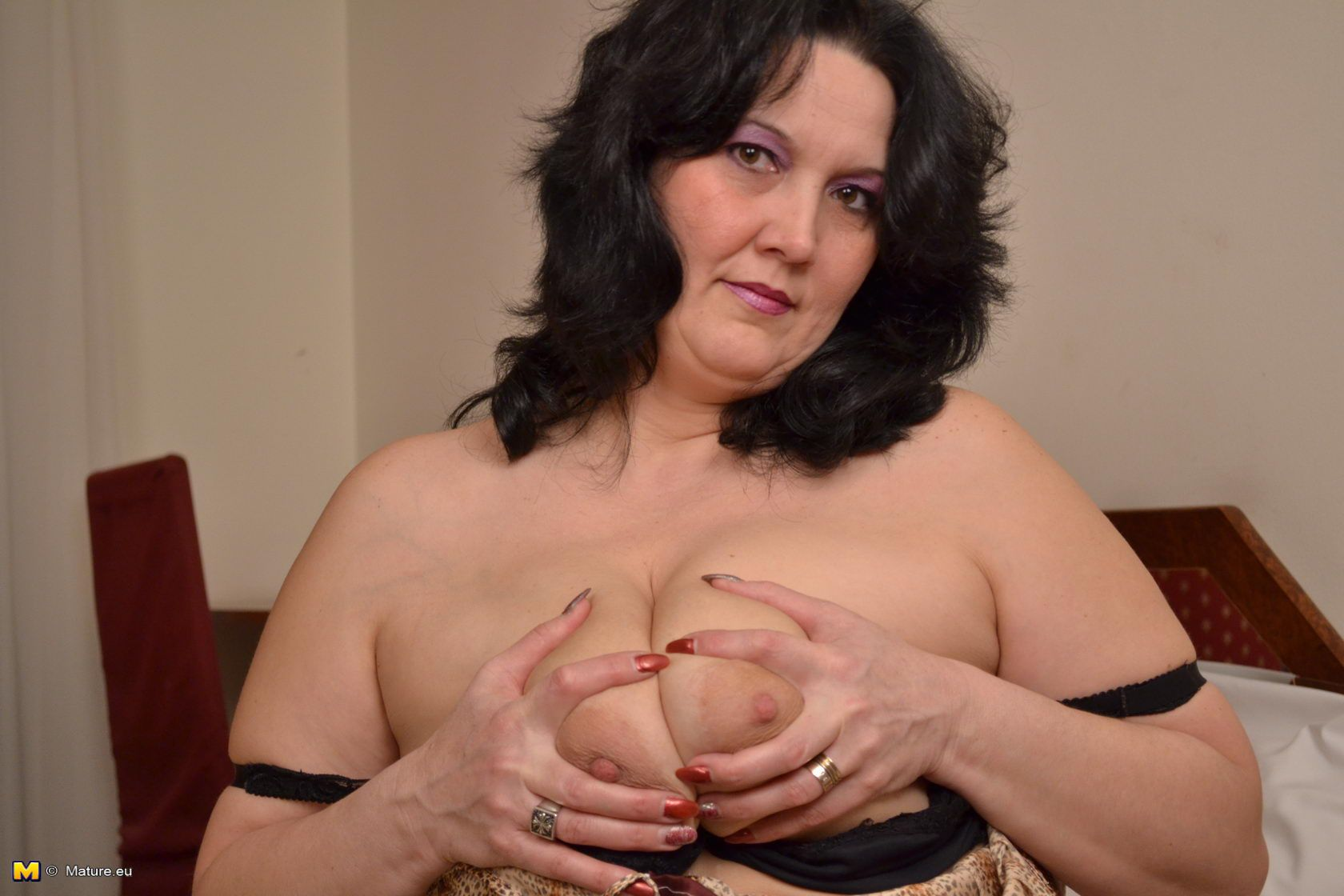 With pussy milf playing Mature think, that