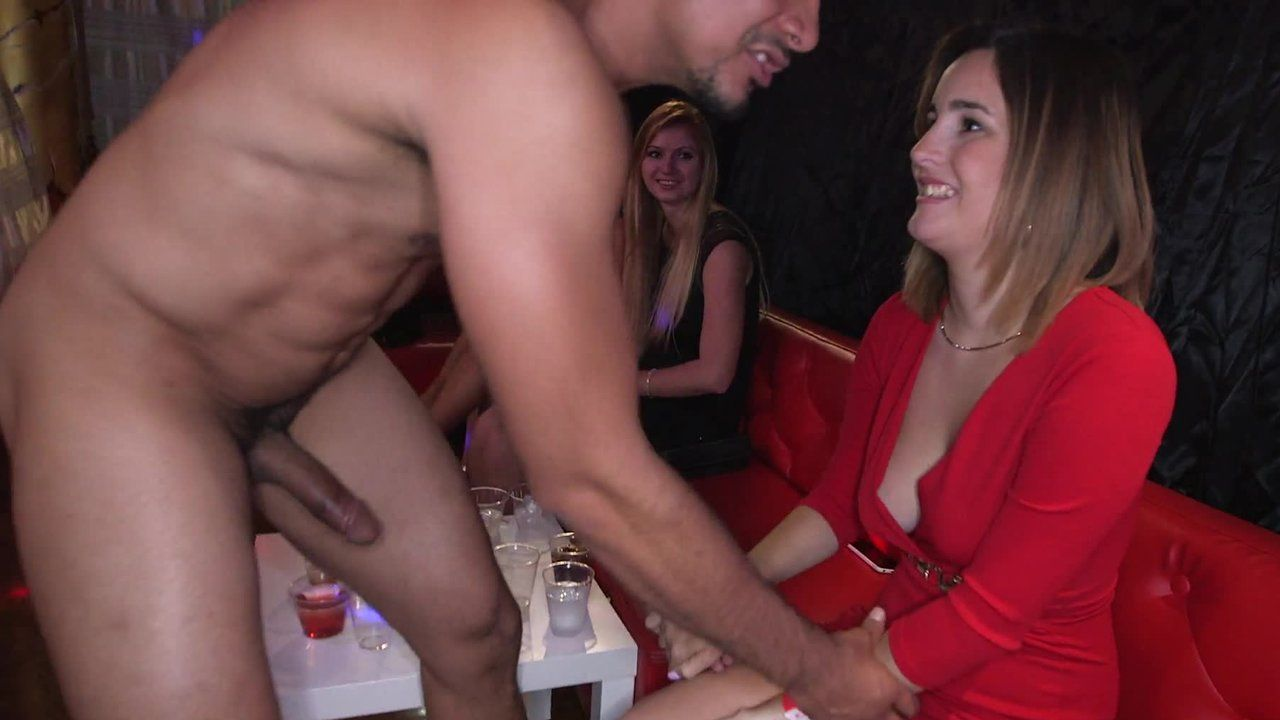 strip club blowjob