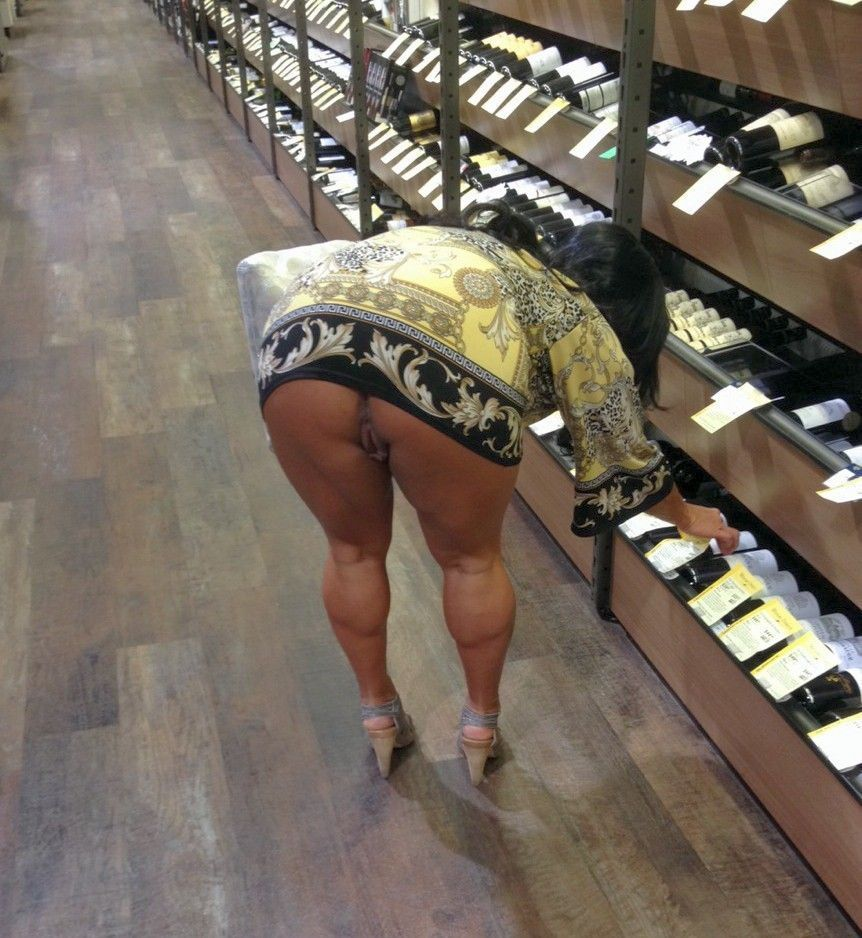 Your voyeur videos shopping upskirt no panties