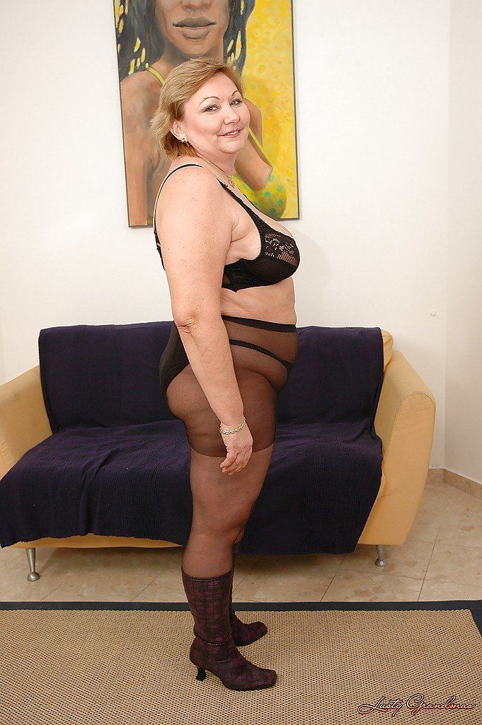 best of Pussy pantyhose Busty huge