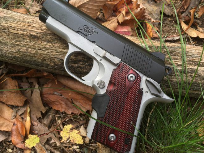 Wild K. reccomend Kimber cdp ultra half cock position
