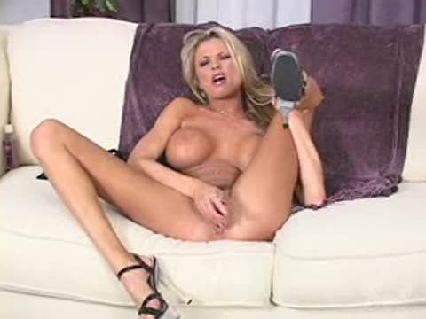 Tator T. recommend best of Briana Banks Is Stuffed In Her Heels On The Sofa.