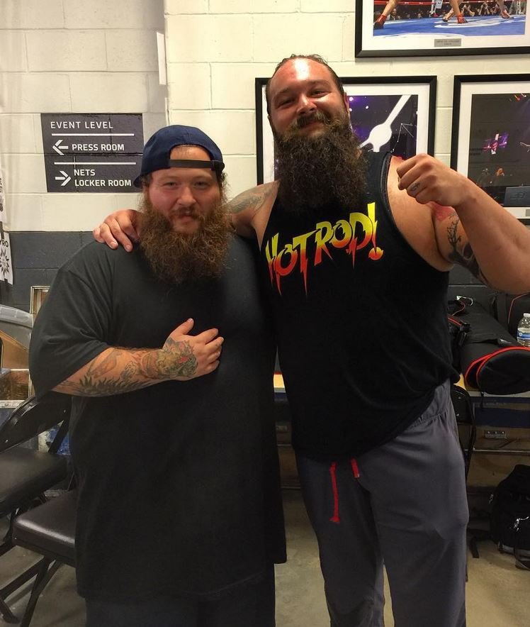 The M. reccomend How tall is bray wyatt