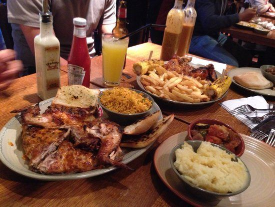 Sticks reccomend Nandos lick it up