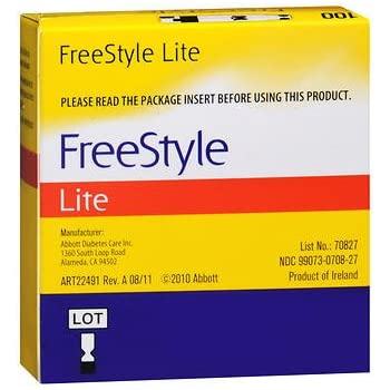 Gasoline reccomend Freestyle style ligt testing strips