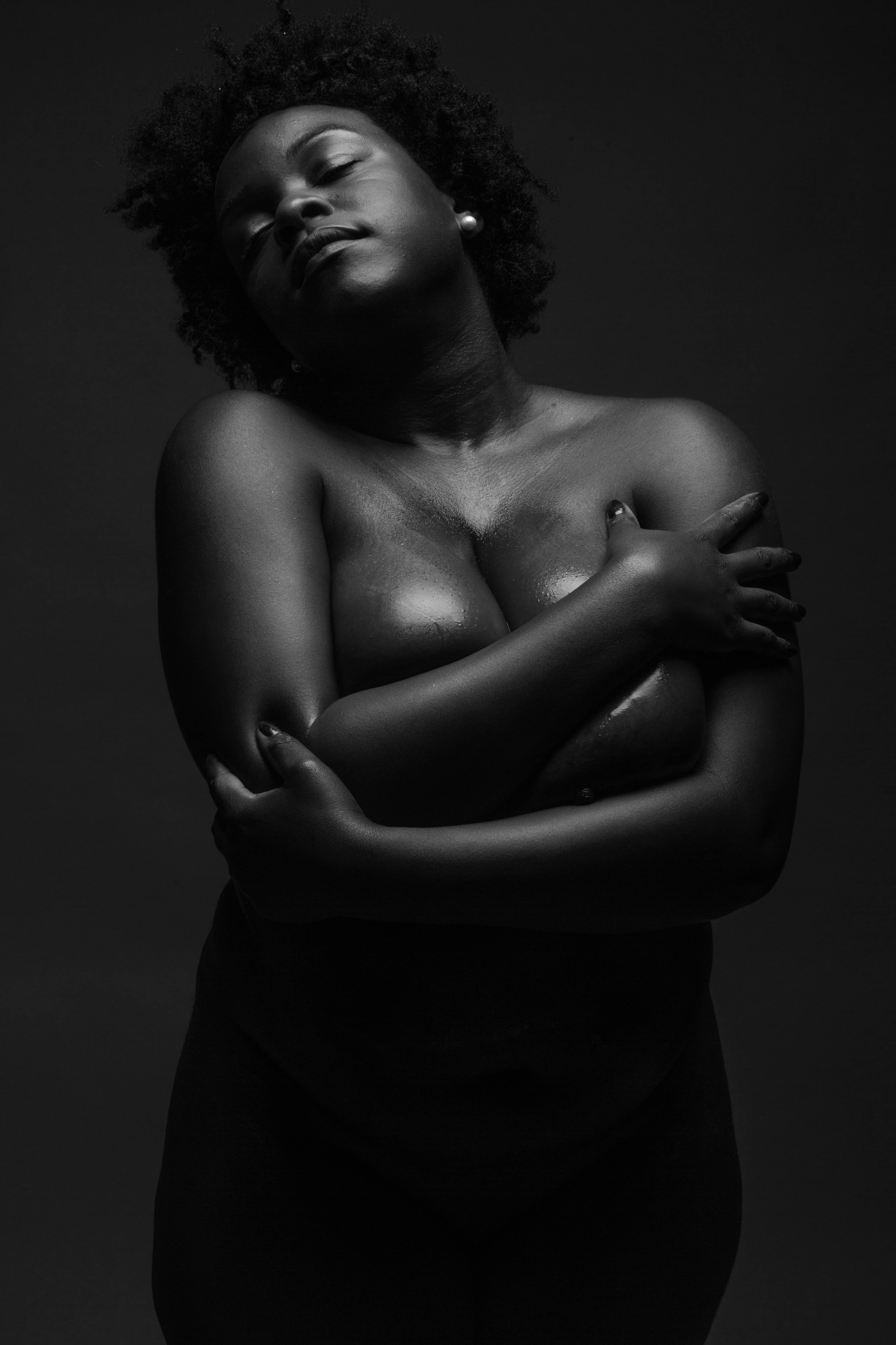 best of Black white Women and nude photo breast
