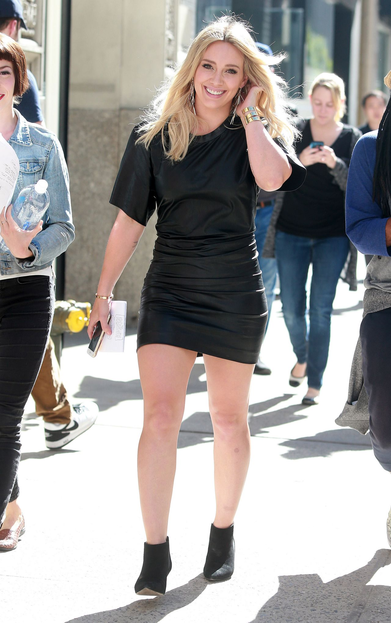best of Dress Hilary upskirt duff