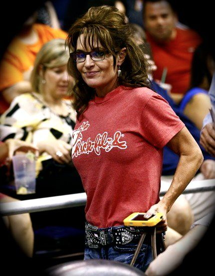 Sarah palin in panties