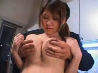 Queeny love morning with cumshot