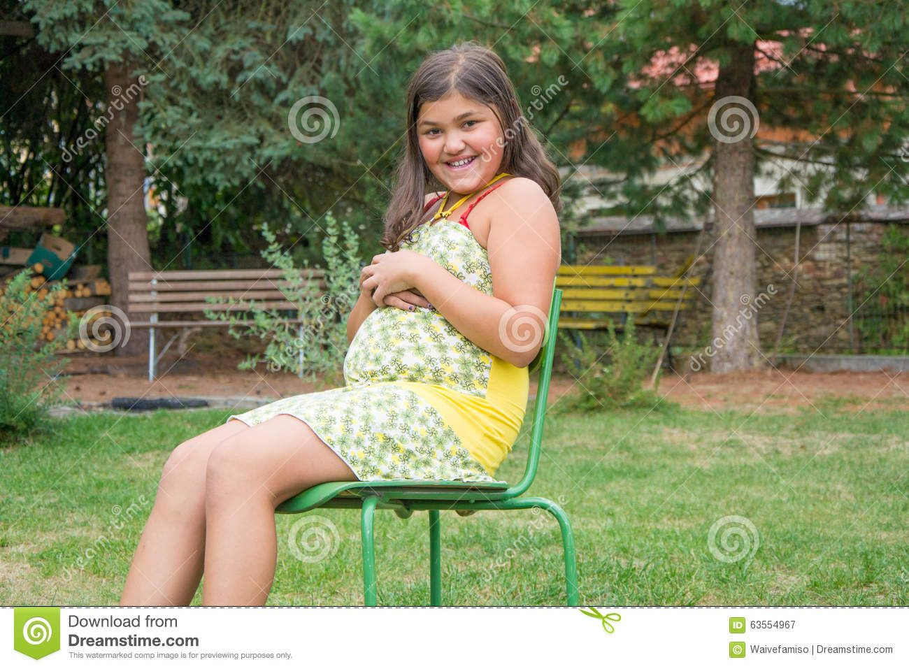 Very young girl pregnant