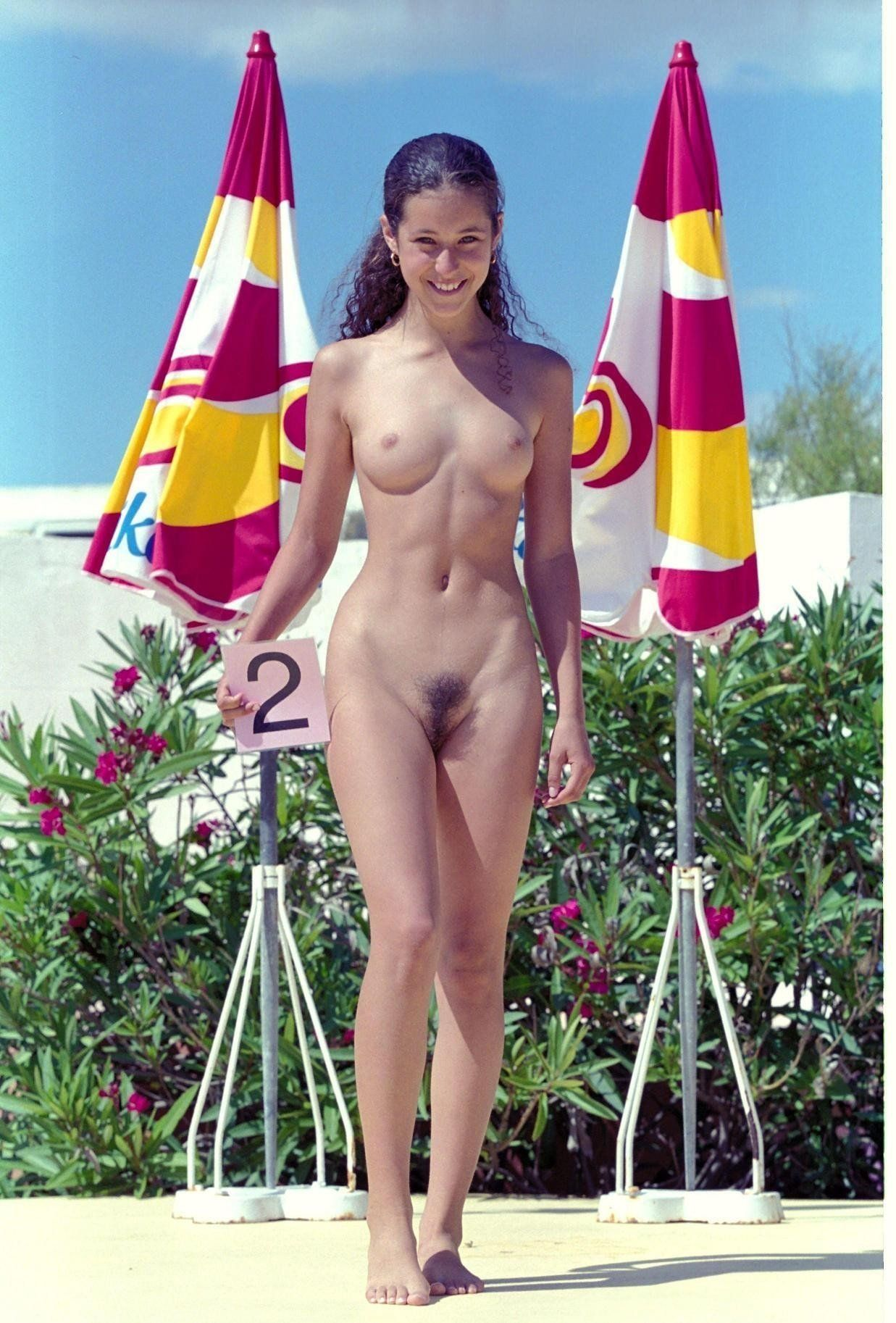best of Teen hairy pussy pageant Nudist
