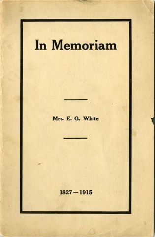 Moth reccomend Ellen g white writings on masturbation