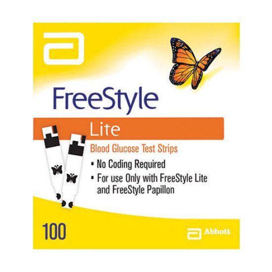 Cinnamon reccomend Freestyle style ligt testing strips