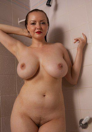 best of Tits in naked shower A cup