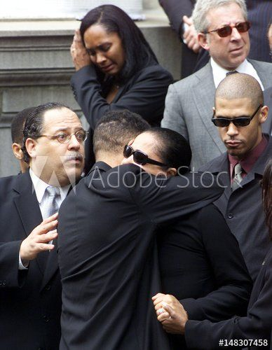 Aaliyahs funeral pictures