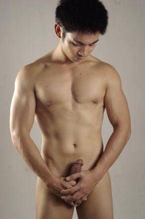 Asian naked sexy male