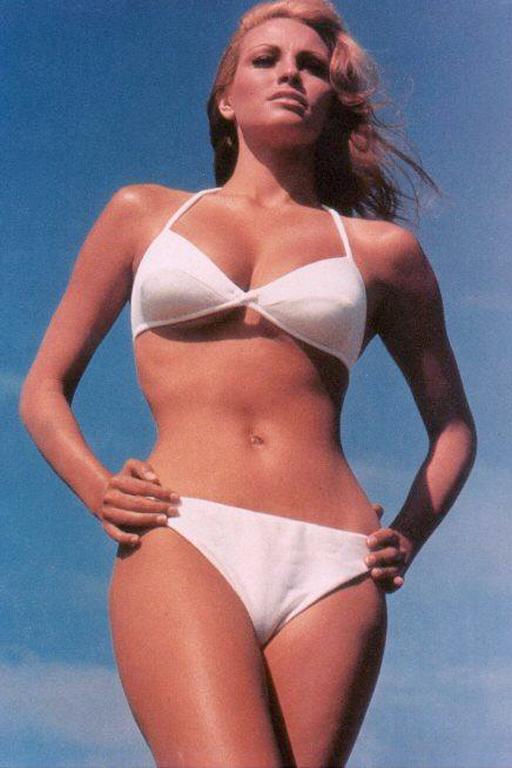 Bikini science cleavage