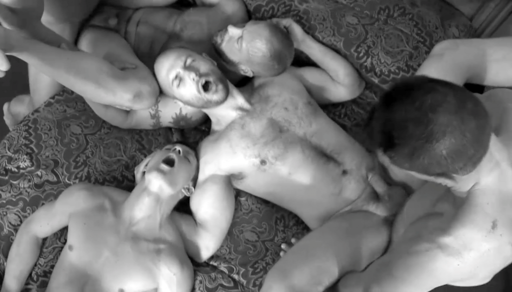 Wildberry reccomend Black and white gay orgy